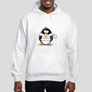 Rhode Island Penguin Hooded Sweatshirt