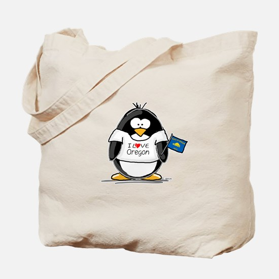 Oregon Penguin Tote Bag