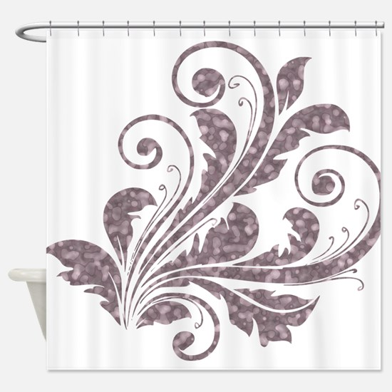 Artistic Floral Shower Curtain
