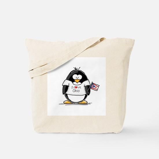 Ohio Penguin Tote Bag