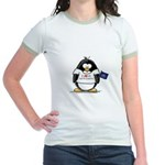 North Dakota Penguin Jr. Ringer T-Shirt