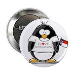 North Carolina Penguin Button