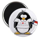North Carolina Penguin Magnet