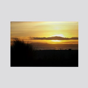 Sunset on Coronado Rectangle Magnet
