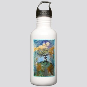 tree ! tree of life, art! Stainless Water Bottle 1