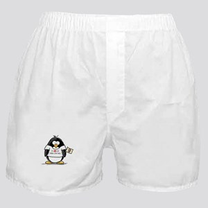 New Jersey Penguin Boxer Shorts