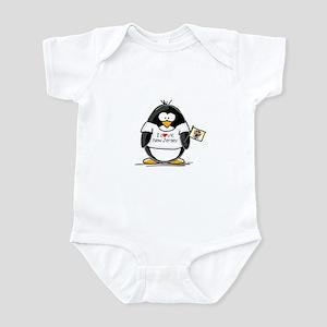 New Jersey Penguin Infant Creeper