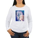 Unicorn Princess Women's Long Sleeve T-Shirt