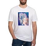 Unicorn Princess Fitted T-Shirt