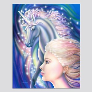 Unicorn Princess Small Poster