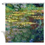 Monet Shower Curtains