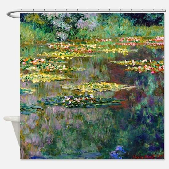 Monet - Le Bassin Shower Curtain