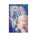 Unicorn Princess Rectangle Magnet
