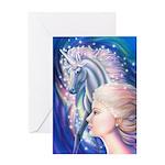 Unicorn Princess Greeting Card