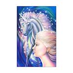 Unicorn Princess Mini Poster Print