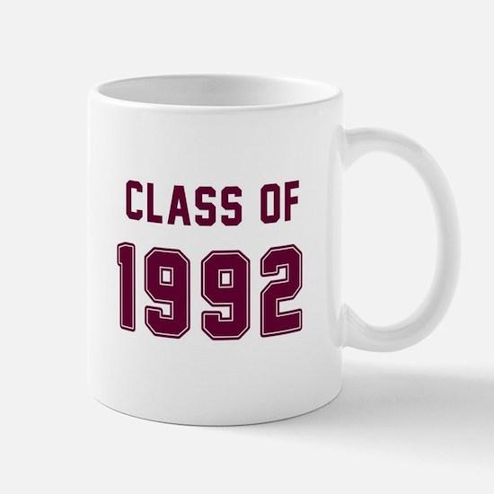 Class of 1992 Maroon Mugs