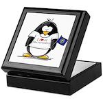 New Hampshire Penguin Keepsake Box