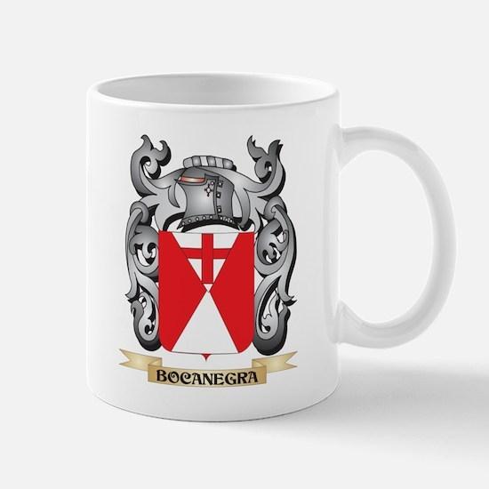 Bocanegra Family Crest - Bocanegra Coat of Ar Mugs