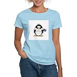 Nebraska Penguin Women's Pink T-Shirt