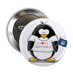 Nebraska Penguin Button