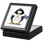 Minnesota Penguin Keepsake Box