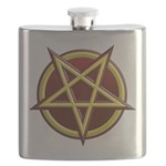 I'm Bringin' Hell With Me Flask