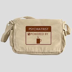 Psychiatrist Powered by Coffee Messenger Bag