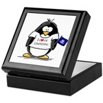 Louisiana Penguin Keepsake Box