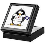 Kentucky Penguin Keepsake Box