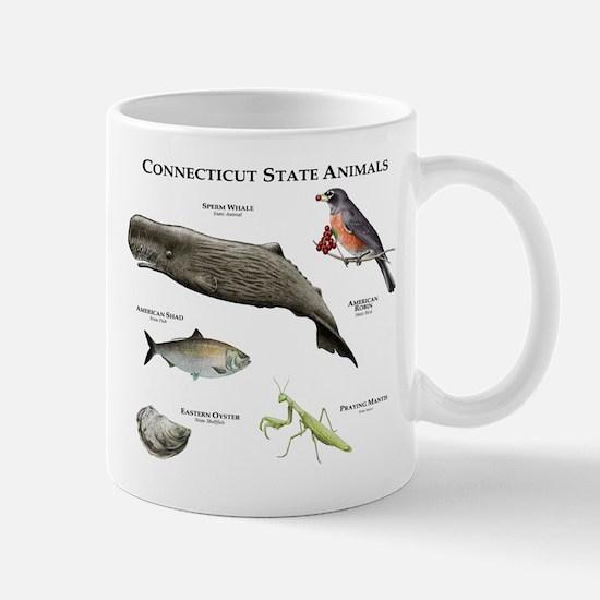 Connecticut State Animals Mug