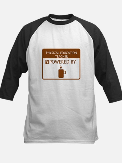 Physical Education Teacher Powered by Coffee Tee