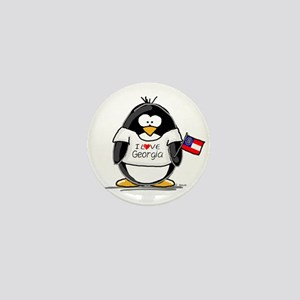 Georgia Penguin Mini Button