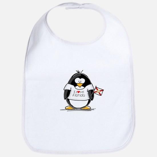 Florida Penguin Bib