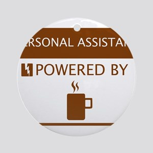 Personal Assistant Powered by Coffee Ornament (Rou