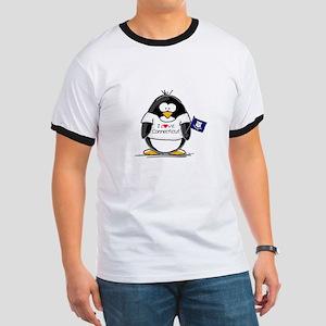 Connecticut Penguin Ringer T