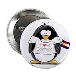 Colorado Penguin Button