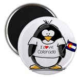Colorado Penguin Magnet