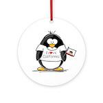 California Penguin Ornament (Round)