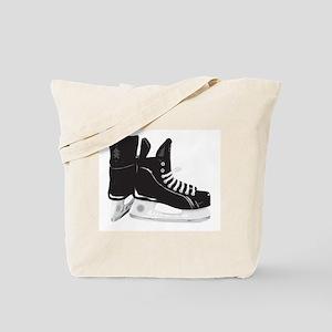 Hockey Skates Tote Bag