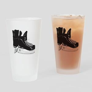 Hockey Skates Drinking Glass