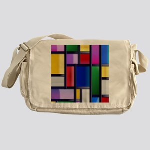 Cute Abstract Colorful rectangle pattern Messenger