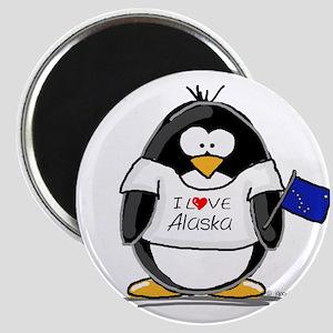 Alaska Penguin Magnet