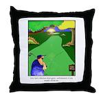 GOLF 023 Throw Pillow