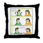 GOLF 050 Throw Pillow