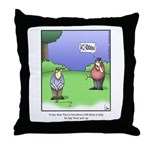 GOLF 067 Throw Pillow