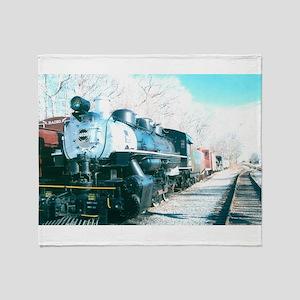 Ride On My Favorite Train. Throw Blanket