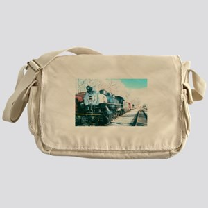 Ride On My Favorite Train. Messenger Bag