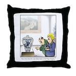 GOLF 073 Throw Pillow
