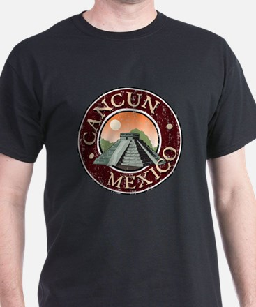 Cancun - Distressed T-Shirt