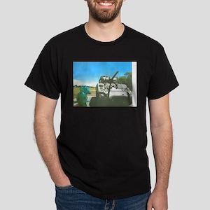 Call Them On The Phone. Dark T-Shirt